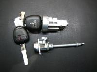 Автозамок Mitsubishi в сборе с комплектом ключей