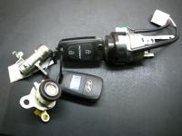 Автозамок Hyundai в сборе с комплектом ключей
