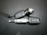 Автозамок Skoda в сборе с комплектом ключей