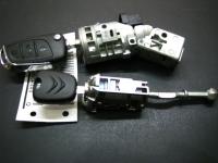 Автозамок Citroen в сборе с комплектом ключей