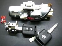 Автозамок Nissan в сборе с комплектом ключей