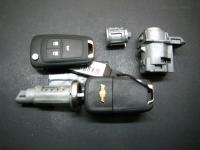 Автозамок Chevrolet в сборе с комплектом ключей